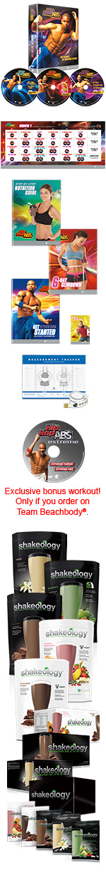 Hip Hop Abs Challenge Pack